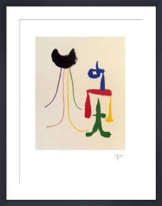 Illustrated Poems-'Parler Seul' XVI by Joan Miro