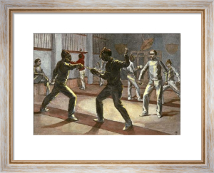 School of Arms (Restrike Etching) by John Jackson
