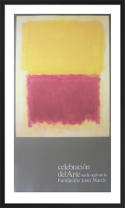 Beige, Yellow and Purple by Mark Rothko