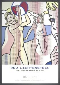 Nudes with Beach Ball by Roy Lichtenstein