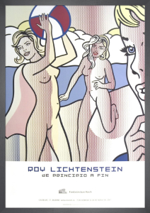 Nudes with Beach Ball by Roy Lichtenstein