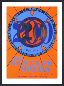 The Santa Fe Opera by Robert Indiana