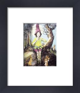 Piper Peterkin (Restrike Etching) by Anne Anderson