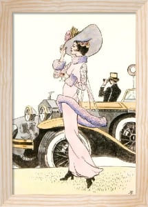 Ascot (Art Deco) (Restrike Etching) by Terence Gilbert