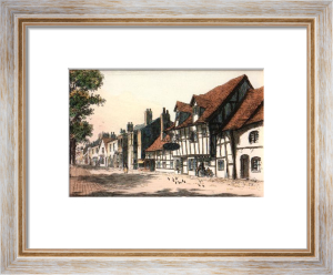 Chester, The Millwright Arms (Restrike Etching) by Anonymous