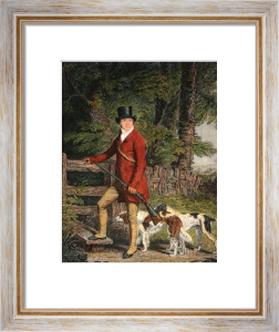 Sportsman, The (Restrike Etching) by John Fitz Marshall