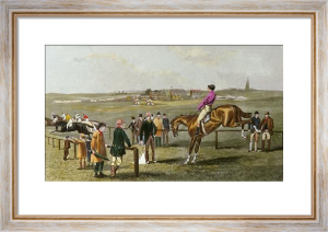 Left at the Post (Restrike Etching) by TNH Walsh