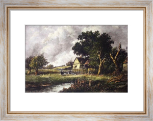 Nasmyth View - Plate II (Stile) (Restrike Etching) by Alex Nasmyth