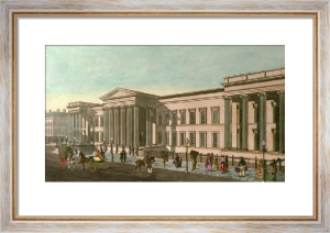General Post Office, London (Restrike Etching) by Francis Bate