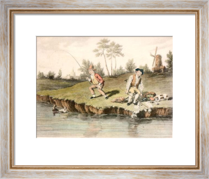McLeans Fishing - Plate V (Restrike Etching) by Anonymous