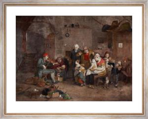 Blind Fiddler (Restrike Etching) by Wilkie