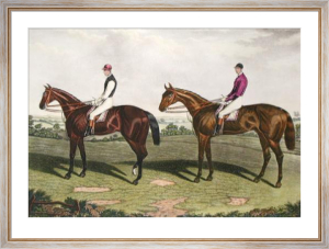 Kingcraft & Horthornden (Restrike Etching) by Charles Hunt
