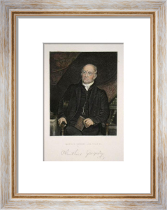 Olinthus Gregory (Restrike Etching) by John Jackson