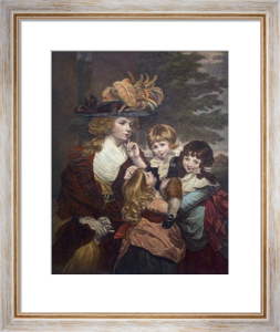 Lady Smythe (Restrike Etching) by Sir Joshua Reynolds