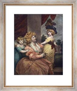 Countess Harrington (Restrike Etching) by Sir Joshua Reynolds