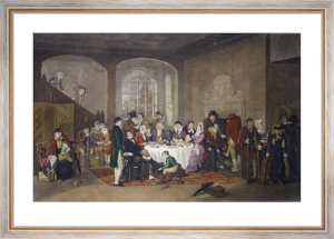 The Breakfast (Restrike Etching) by Anonymous