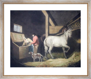 The Cornbin (Restrike Etching) by George Morland
