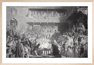 Acquittal of Seven Bishops (Restrike Etching) by John Rogers Herbert