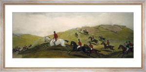 Road Riders, or Funkers (Restrike Etching) by Richard Barrett Davis