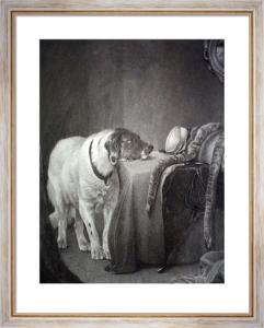 Faithful Companion (Restrike Etching) by E. Grimston
