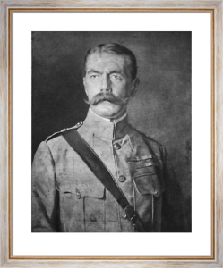 Lord Kitchener (Restrike Etching) by Anonymous