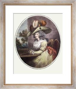 Delia in Town (Restrike Etching) by George Morland