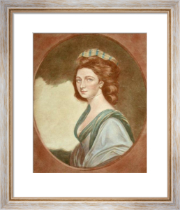 Lady Louisa Manners (Restrike Etching) by Anonymous