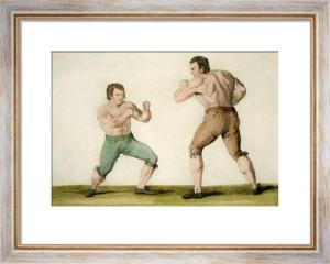 Thomas Johnson & Isaac Perrins (Restrike Etching) by Caroline Metz
