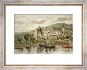 Tintern Abbey, Gwent (Restrike Etching) by Anonymous