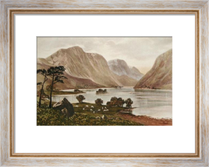 Scottish Lochs (Restrike Etching) by Anonymous