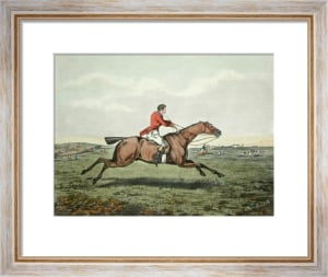 Hunting Recollections, Pepper (Restrike Etching) by Henry Alken