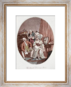 The French Dressing Room (Restrike Etching) by Charles Ansell