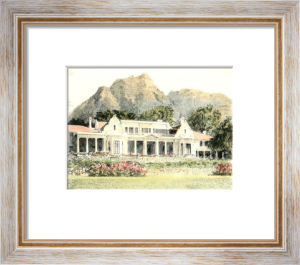 South African Scenes - Pl. I (Restrike Etching) by Anonymous