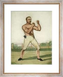 Thomas Cribb (Restrike Etching) by Piercy Roberts