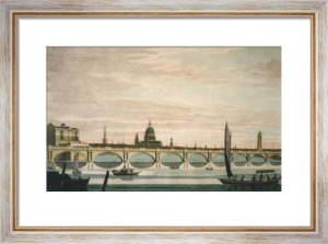 Waterloo Bridge (Restrike Etching) by Anonymous