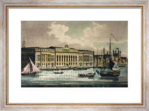 New Customs House (Restrike Etching) by Anonymous