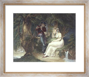 Spring - Bartolozzi (Restrike Etching) by William Hamilton