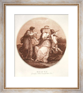 Beauty (Restrike Etching) by Angelica Kauffmann
