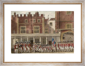 Parade at St. James (Restrike Etching) by Anonymous