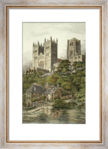 Durham Cathedral (Restrike Etching) by Anonymous