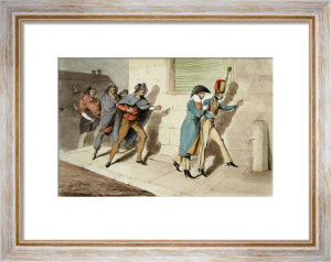 Army Discoveries - Affair (Restrike Etching) by Anonymous