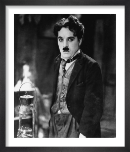 Charlie Chaplin (The Gold Rush) by Hollywood Photo Archive
