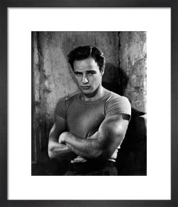 Marlon Brando (A Streetcar Named Desire) by Hollywood Photo Archive