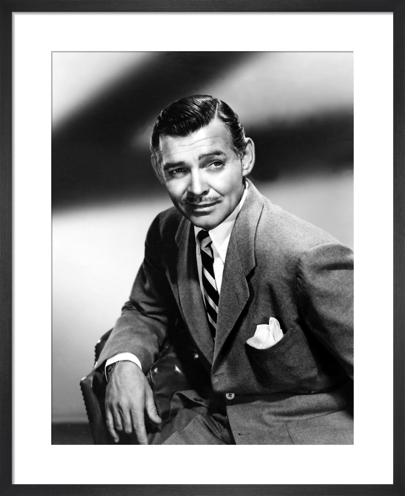 Clark Gable by Hollywood Photo Archive