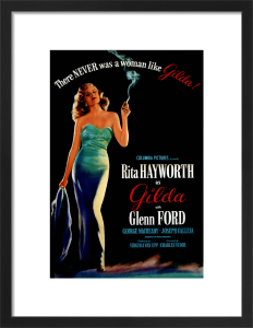 Rita Hayworth (Gilda) by Hollywood Photo Archive