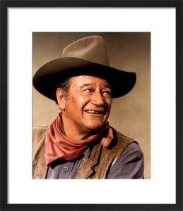 John Wayne (Chisum) by Hollywood Photo Archive