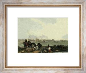 Montpelier (Restrike Etching) by J.D. Harding