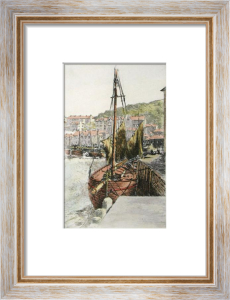 Polperro Harbour, Cornwall (Restrike Etching) by Anonymous