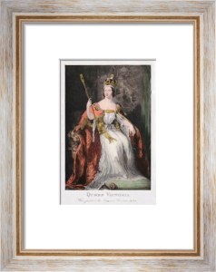 Queen Victoria (Small) (Restrike Etching) by Anonymous