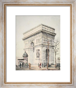 Arc de Triomphe (Restrike Etching) by Graham Gulvert